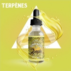 E-liquide au CBD Jungle - Banana (Greeneo)