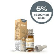 Huile de CBD 5% « Authentic » (Cibdol)