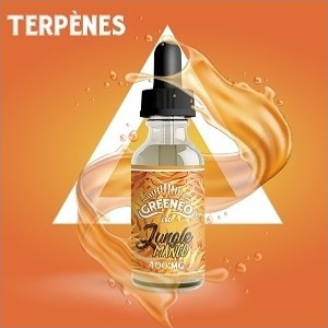 E-liquide au CBD Jungle - Mango (Greeneo)