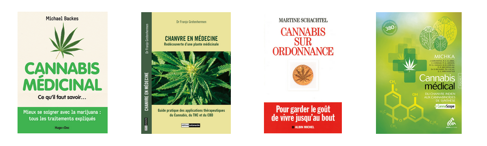 Livres cannabis medical therapeutique medicinal france CBD chanvre librairie cancer