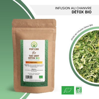 Thé de Chanvre DETOX (Pop CBD)