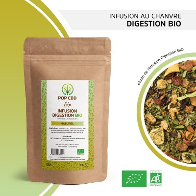 Infusion de Chanvre DIGESTION (Pop CBD)