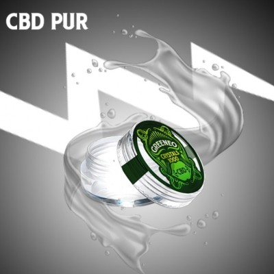 Cristaux de CBD 100% (Cannabidiol) 500 / 1000 mg (GREENEO)