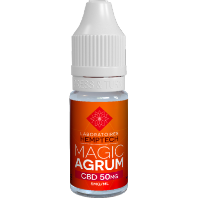 E-liquide au CBD Magic Agrum (Hemptech)