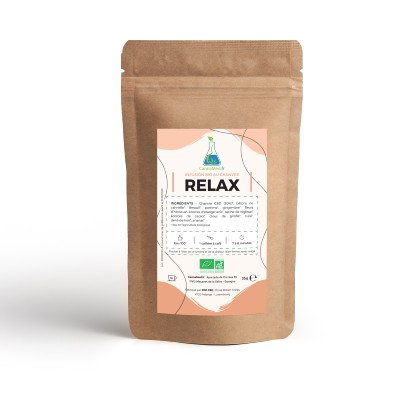 Infusion de Chanvre RELAX (CannaMed.fr par Pop CBD)