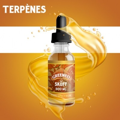 E-liquide CBD SKÜFF « Full Spectrum » 100/300/500/1000/2000 mg (Greeneo)